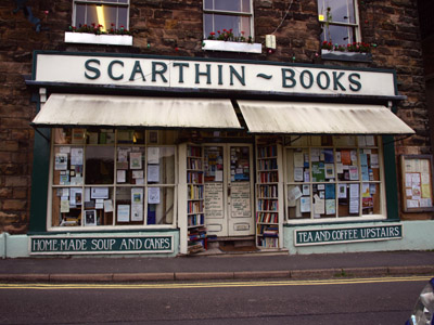 the perfect book emporium Scarthin Books