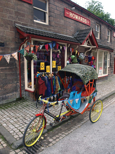 Colourful ethnic shop in Cromford