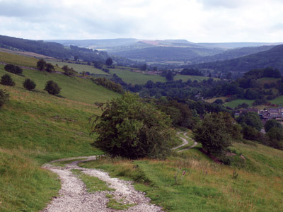 Path above Calver