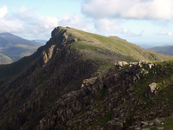 Red Pike from the saddle above Blackem Head
