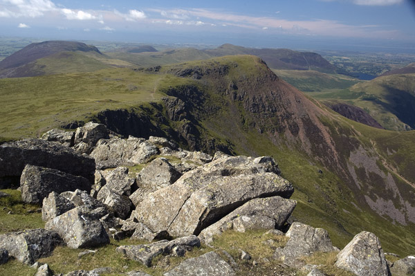 Red Pike from west slope of High Stile
