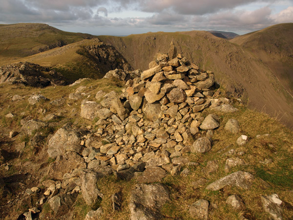 Summit cairn of Red Pike