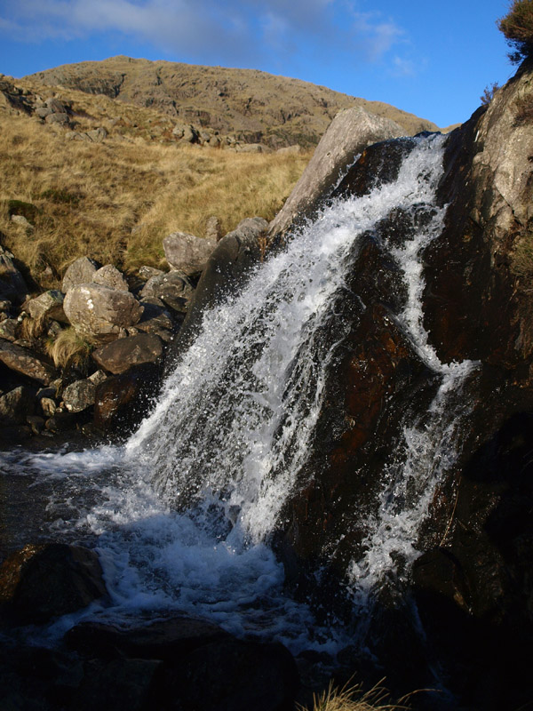 Waterfall in upper Over Beck