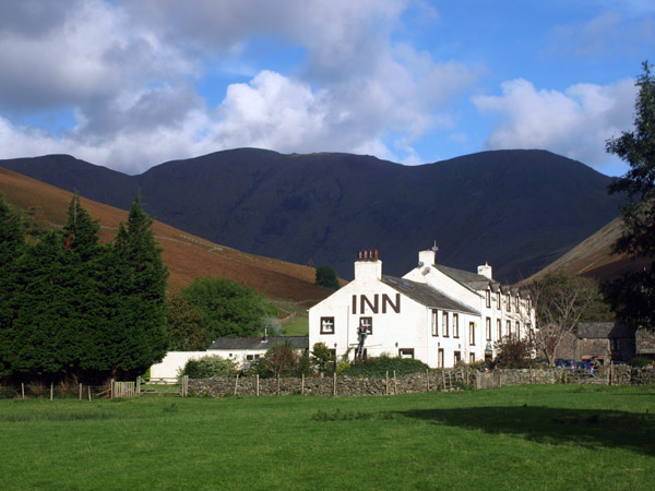 Wasdale Head Hotel, the start of most ascents