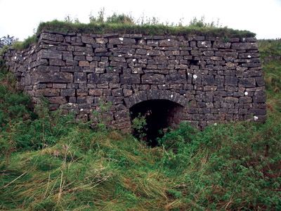 Lime kiln near Slade House