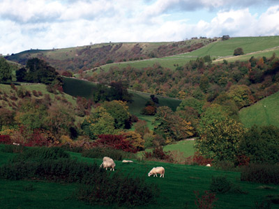 Manifold valley from Throwley looking to Bincliff