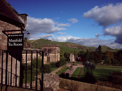 The National Trust's Manifold Tearoom, Ilam Hall