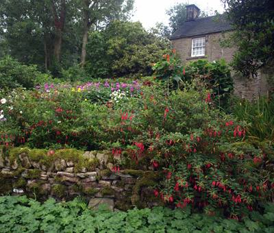 Cottage garden in Hollinsclough
