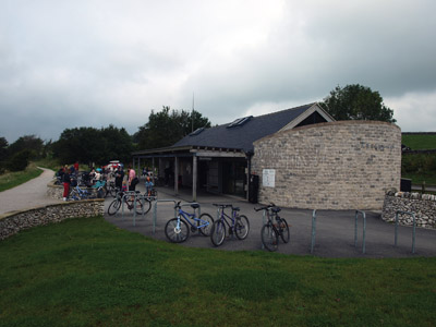 Parsley Hay National Park cycle hire and information centre