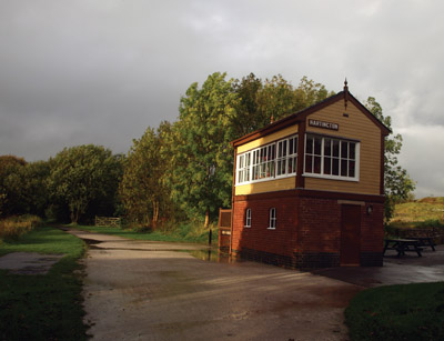 Hartington Old Station signal box