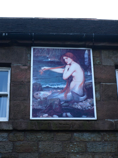 The Mermaid Inn-sign