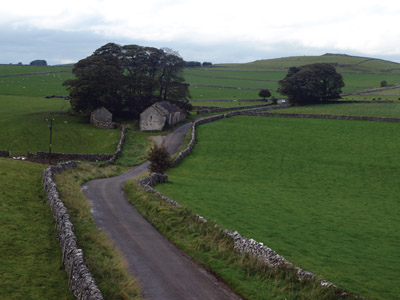 Lees Barn and Liffs Knoll from the Tissington Trail