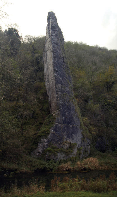Soaring pinnacle of Ilam Rock
