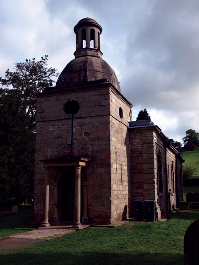 St Mary's, Mappleton, its truncated tower crowned by an octagonal dome