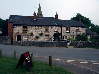 Sycamore Inn pub and shop in Parwich