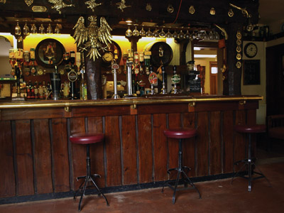 The Sycamore Inn bar