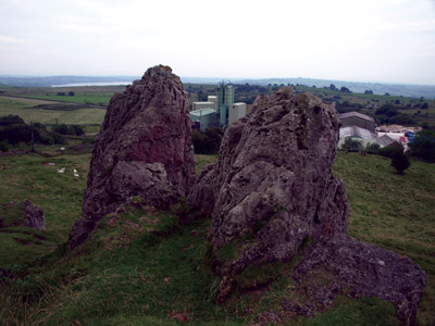 Summit of Harboro' Rocks