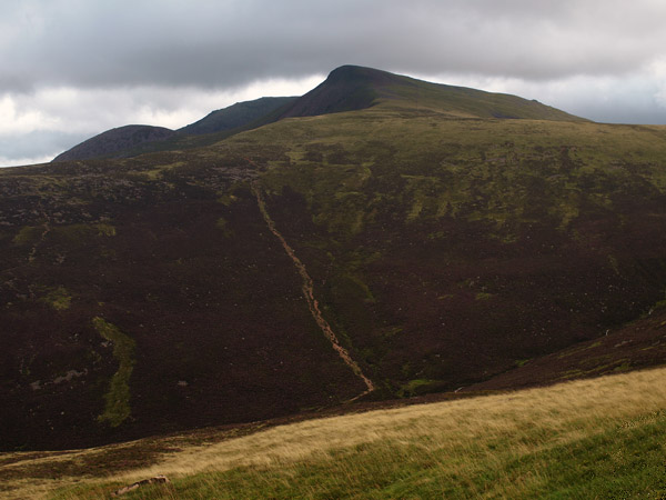 Red Pike from higher up the ridge from Gale Fell