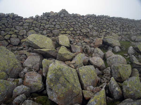 Precise summit of Scoat Fell