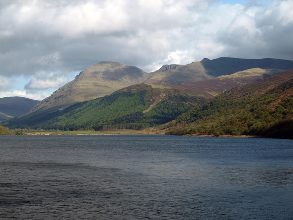 Pillar and Steeple as seen across Ennerdale Water