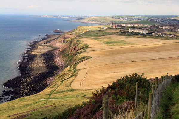 Whitehaven from the northern extremity of the St Bees headland