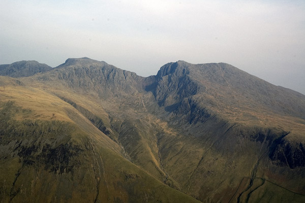 The Scafells form the summit