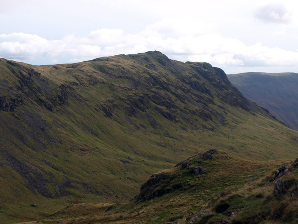 The summit from above Dore Head