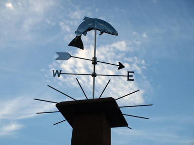 weathervane in Pooley Bridge
